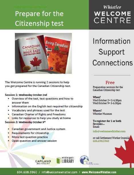 Citizenship Preparation Poster